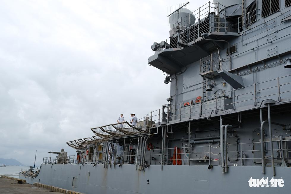 Bên trong tuần dương hạm USS Bunker Hill đang ghé thăm Đà Nẵng - Ảnh 5.