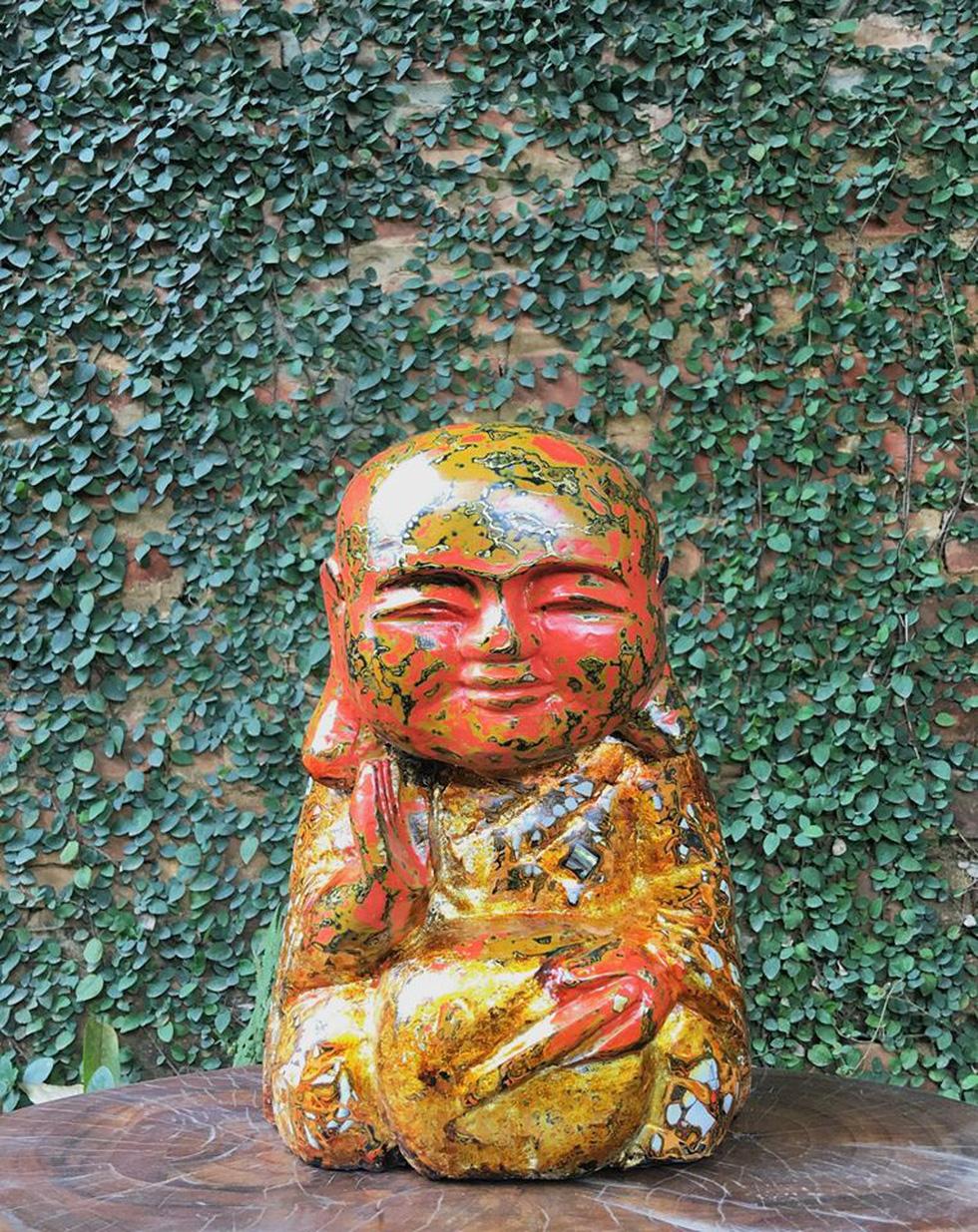 Ngắm tác phẩm của 13 điêu khắc gia trong triển lãm online - Ảnh 4.
