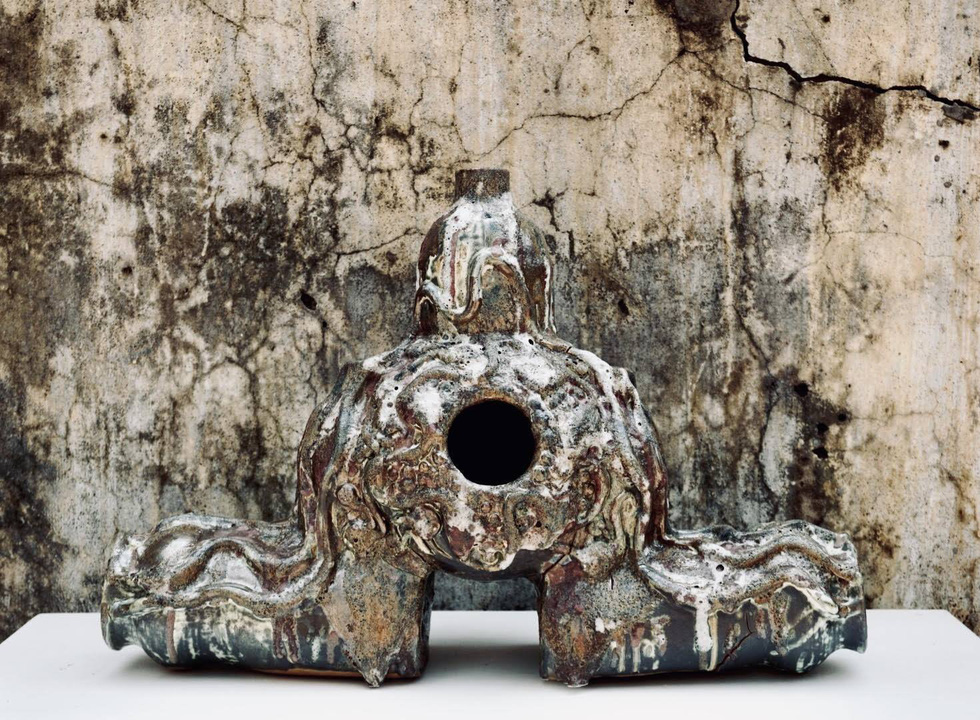 Ngắm tác phẩm của 13 điêu khắc gia trong triển lãm online - Ảnh 9.
