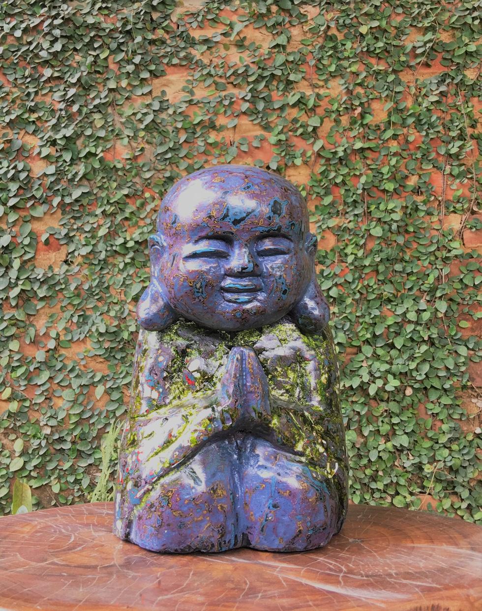Ngắm tác phẩm của 13 điêu khắc gia trong triển lãm online - Ảnh 1.