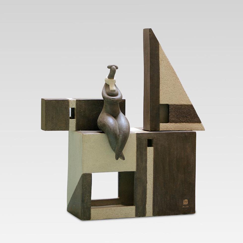 Ngắm tác phẩm của 13 điêu khắc gia trong triển lãm online - Ảnh 8.