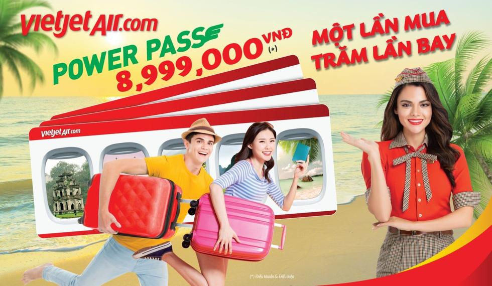 Vietjet tung thẻ vạn năng, khách bay được cả năm không giới hạn số chuyến - Ảnh 2.