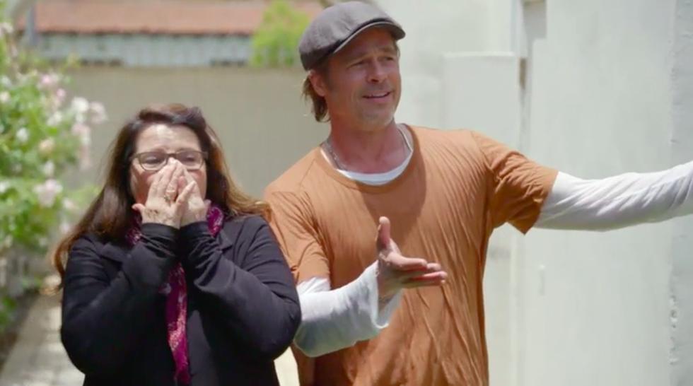 Brad Pitt tự tay sửa nhà cho bạn thân, được khen là quý ông đích thực - Ảnh 3.