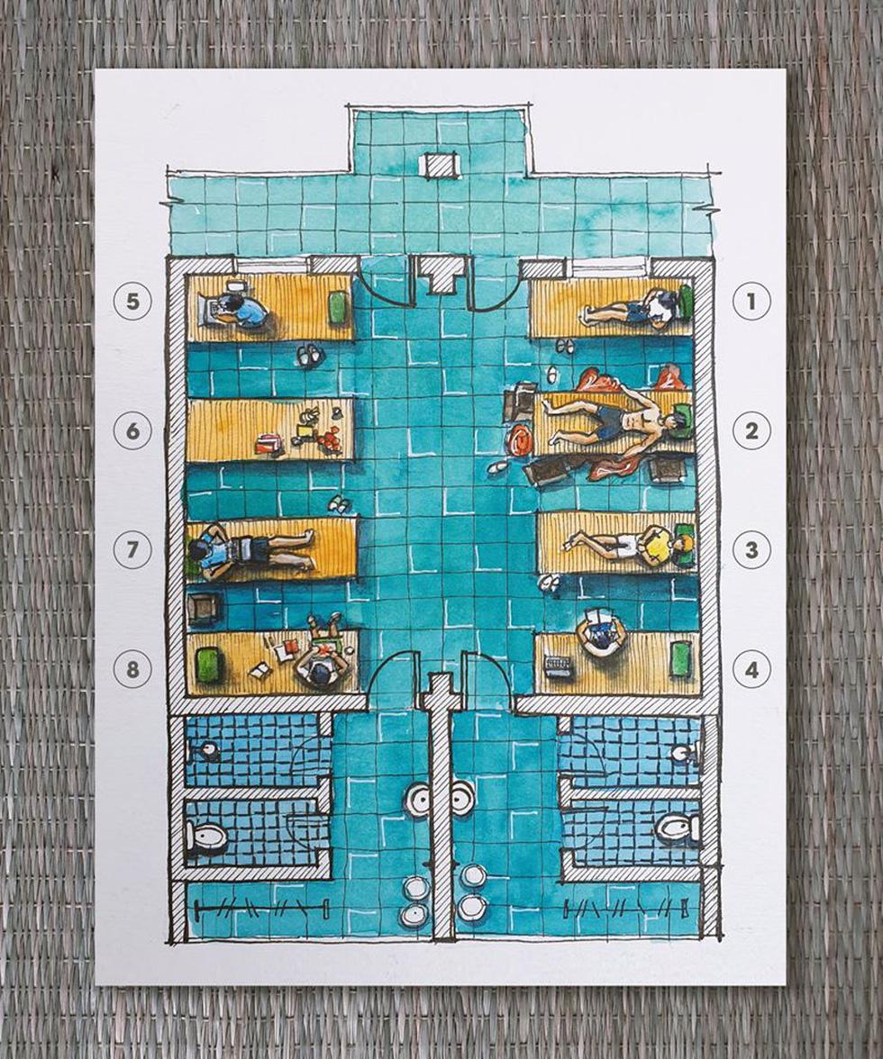 Kiến trúc sư ngập đơn hàng vẽ tranh làm quà tặng cho khu cách ly - Ảnh 5.