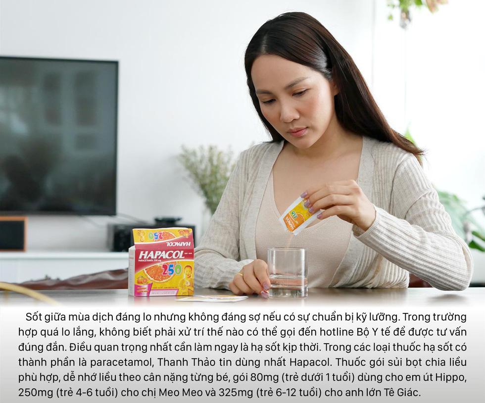 Tiêu chí chọn và dùng thuốc hạ sốt an toàn trong mùa dịch của Thanh Thảo - Ảnh 3.