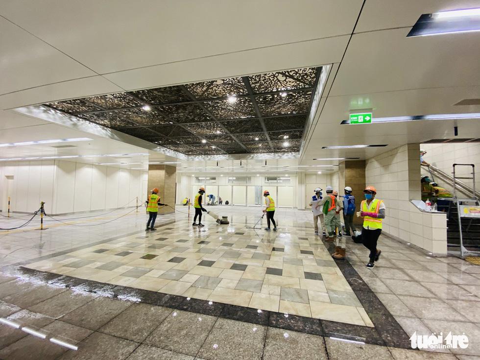 Metro số 1 Bến Thành - Suối Tiên đang băng băng về đích - Ảnh 9.
