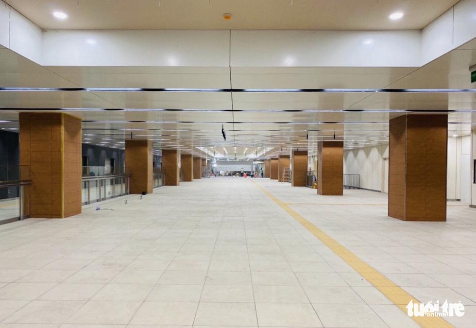 Metro số 1 Bến Thành - Suối Tiên đang băng băng về đích - Ảnh 10.