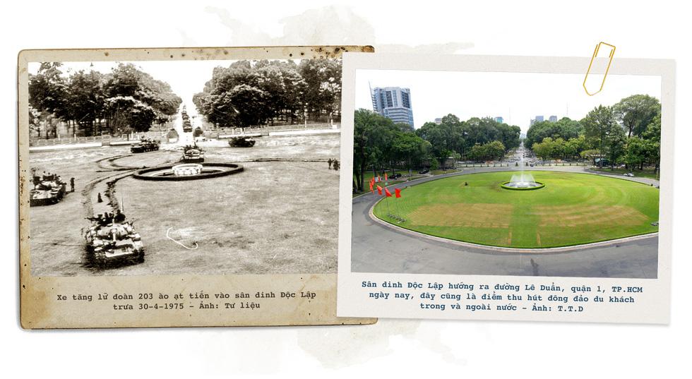 Những địa điểm lịch sử của Sài Gòn 45 năm trước và bây giờ - Ảnh 10.