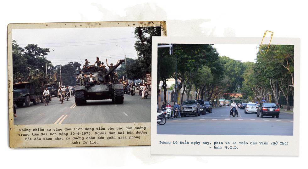 Những địa điểm lịch sử của Sài Gòn 45 năm trước và bây giờ - Ảnh 17.