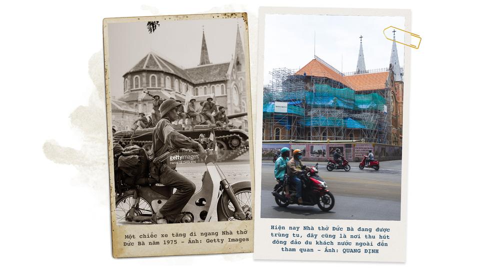 Những địa điểm lịch sử của Sài Gòn 45 năm trước và bây giờ - Ảnh 3.