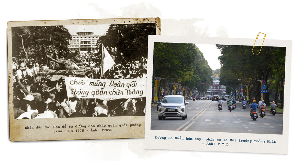 Những địa điểm lịch sử của Sài Gòn 45 năm trước và bây giờ - Ảnh 9.