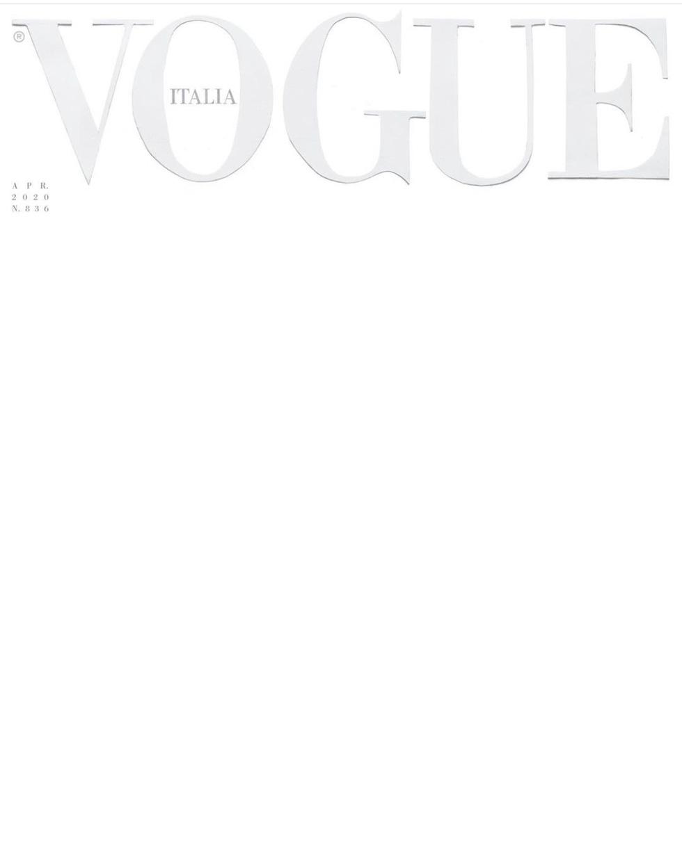 Tạp chí để trắng bìa với thông điệp ấn tượng mùa dịch COVID-19 - Ảnh 1.