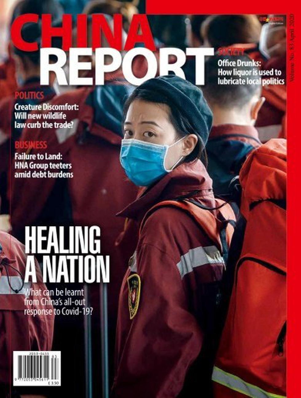 Tạp chí để trắng bìa với thông điệp ấn tượng mùa dịch COVID-19 - Ảnh 7.