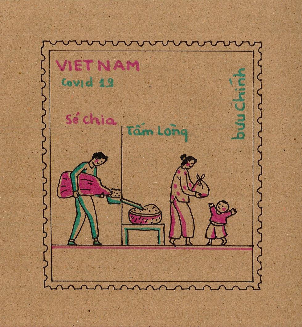 Ban nhạc Ngọt, Min, Châu Bùi... kêu gọi vẽ tranh chủ đề Lòng tốt dễ lây - Ảnh 12.