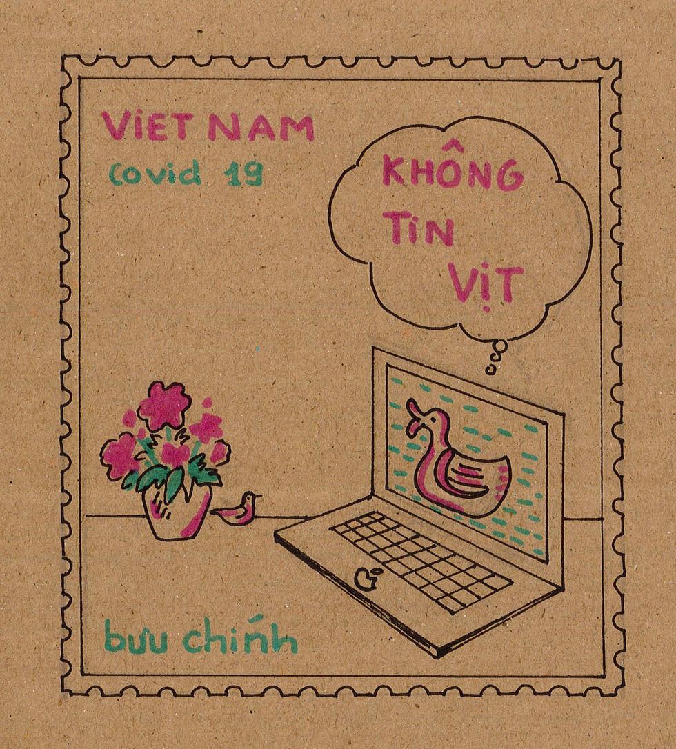 Ban nhạc Ngọt, Min, Châu Bùi... kêu gọi vẽ tranh chủ đề Lòng tốt dễ lây - Ảnh 9.