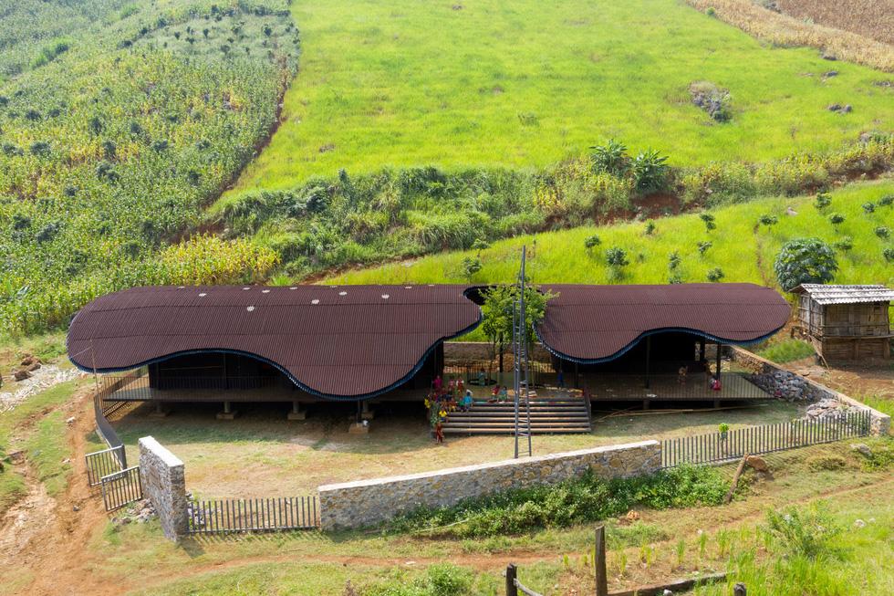 Nhà trẻ vùng cao Bó Mon vào top dự án kiến trúc thế giới mới - Ảnh 1.