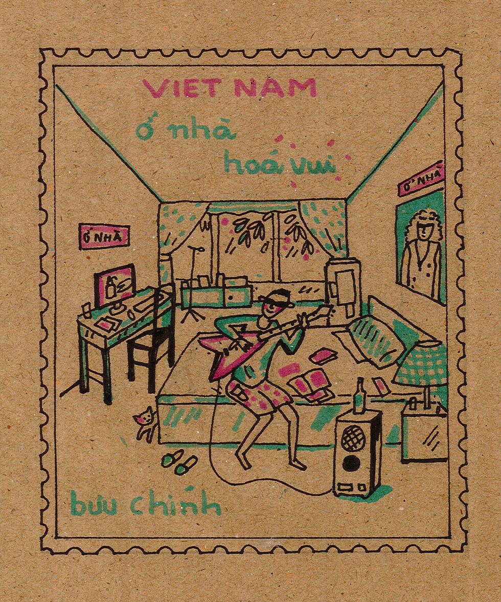 Ban nhạc Ngọt, Min, Châu Bùi... kêu gọi vẽ tranh chủ đề Lòng tốt dễ lây - Ảnh 8.