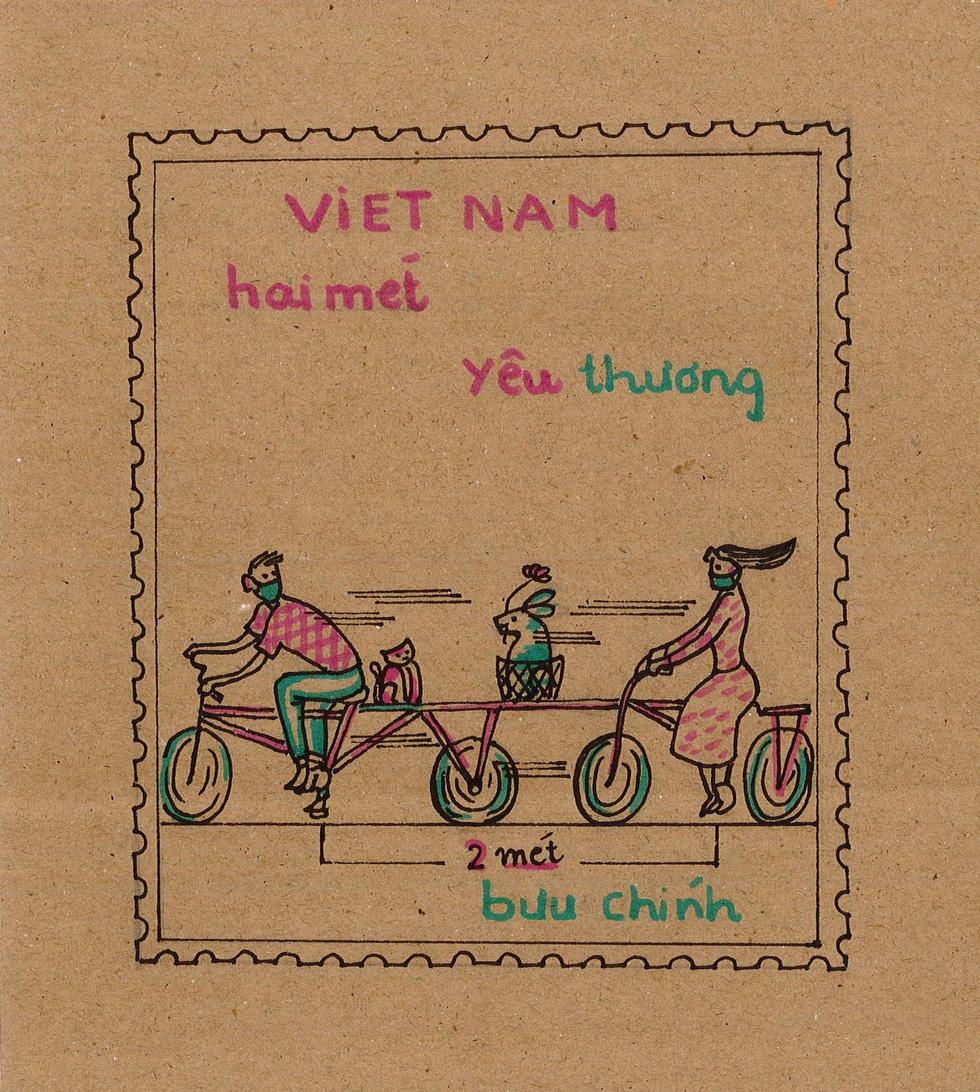 Ban nhạc Ngọt, Min, Châu Bùi... kêu gọi vẽ tranh chủ đề Lòng tốt dễ lây - Ảnh 7.
