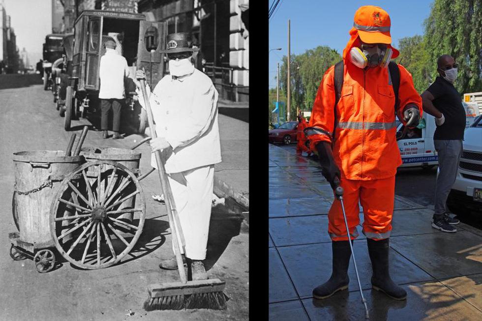 Xem những hình ảnh chống dịch một thế kỷ trước giống y hiện nay - Ảnh 4.