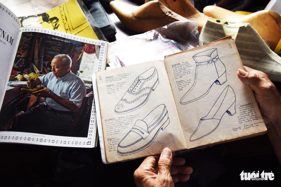 Người nghệ nhân già gần 90 tuổi lưu giữ hào quang của nghệ thuật đóng giày - Ảnh 11.