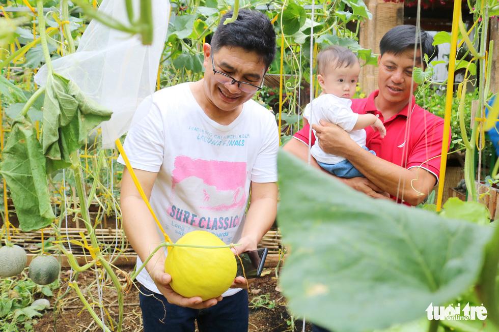 Đôi vợ chồng ở Sài Gòn biến khu đất 273m² thành vườn rau đầy cây trái sau thời gian cách ly - Ảnh 7.