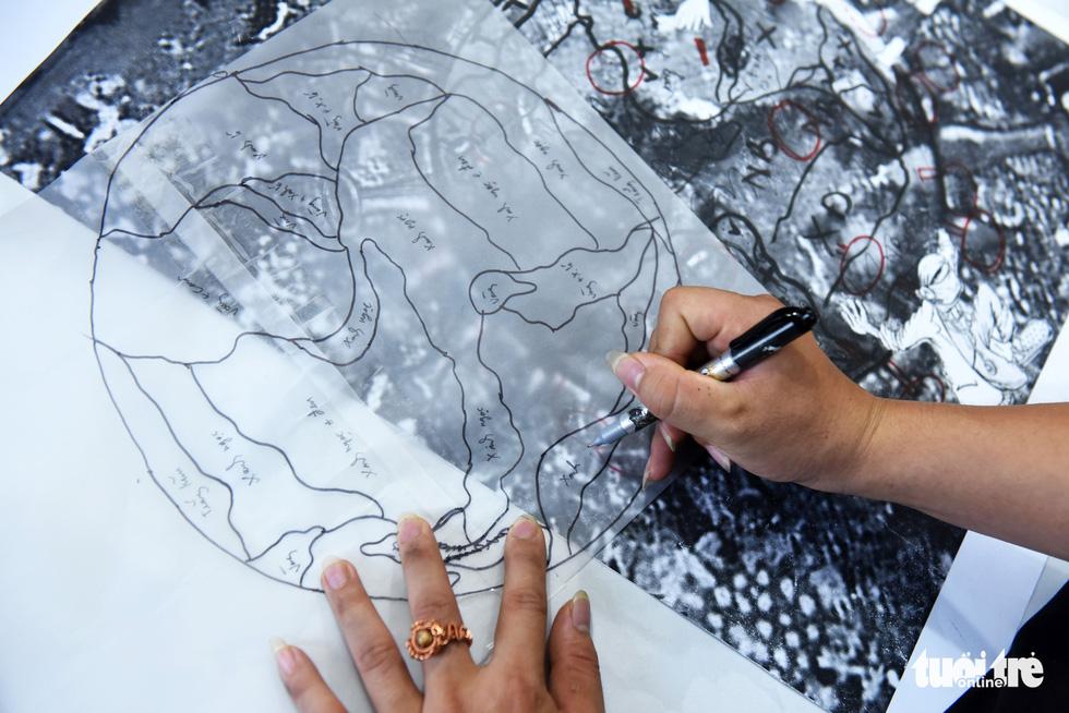 Cô gái sáng tạo ra dòng tranh dây đồng, chỉ truyền nghề cho người khuyết tật - Ảnh 4.