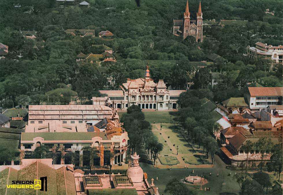 Bộ ảnh phục chế Sài Gòn 100 năm trước gây sốt vì màu xanh cây cối - Ảnh 5.
