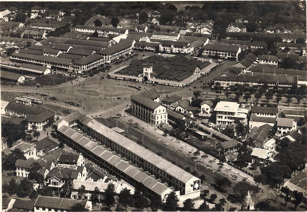 Bộ ảnh phục chế Sài Gòn 100 năm trước gây sốt vì màu xanh cây cối - Ảnh 12.