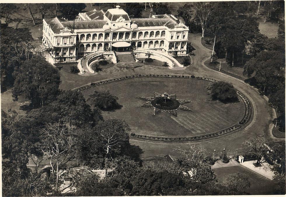 Bộ ảnh phục chế Sài Gòn 100 năm trước gây sốt vì màu xanh cây cối - Ảnh 9.
