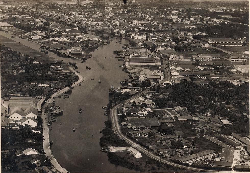 Bộ ảnh phục chế Sài Gòn 100 năm trước gây sốt vì màu xanh cây cối - Ảnh 15.