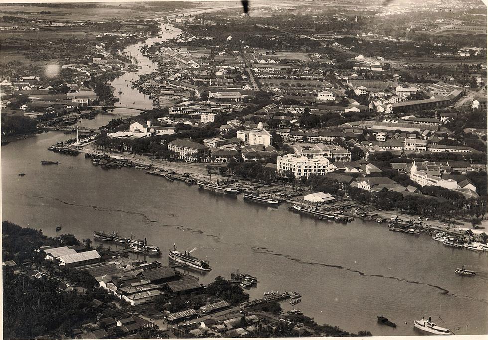 Bộ ảnh phục chế Sài Gòn 100 năm trước gây sốt vì màu xanh cây cối - Ảnh 18.