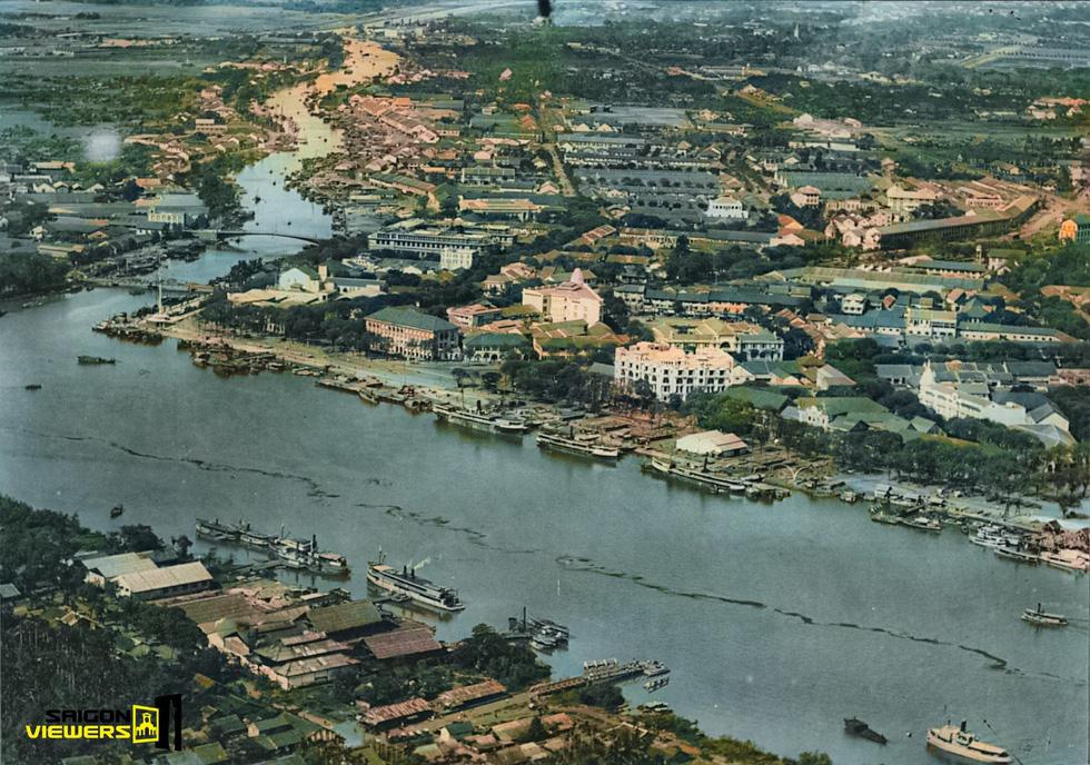 Bộ ảnh phục chế Sài Gòn 100 năm trước gây sốt vì màu xanh cây cối - Ảnh 17.