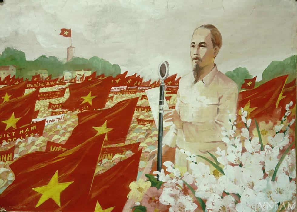 Ngắm tranh Bác Hồ của các danh họa Trần Văn Cẩn, Dương Bích Liên, Lê Bá Đảng - Ảnh 5.