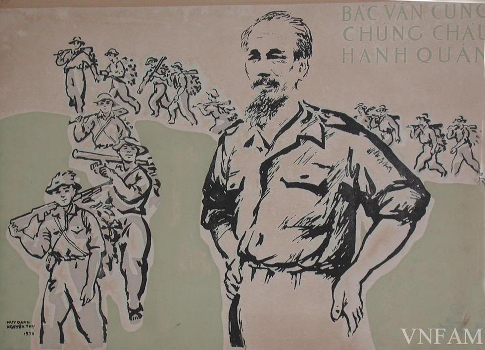 Ngắm tranh Bác Hồ của các danh họa Trần Văn Cẩn, Dương Bích Liên, Lê Bá Đảng - Ảnh 9.