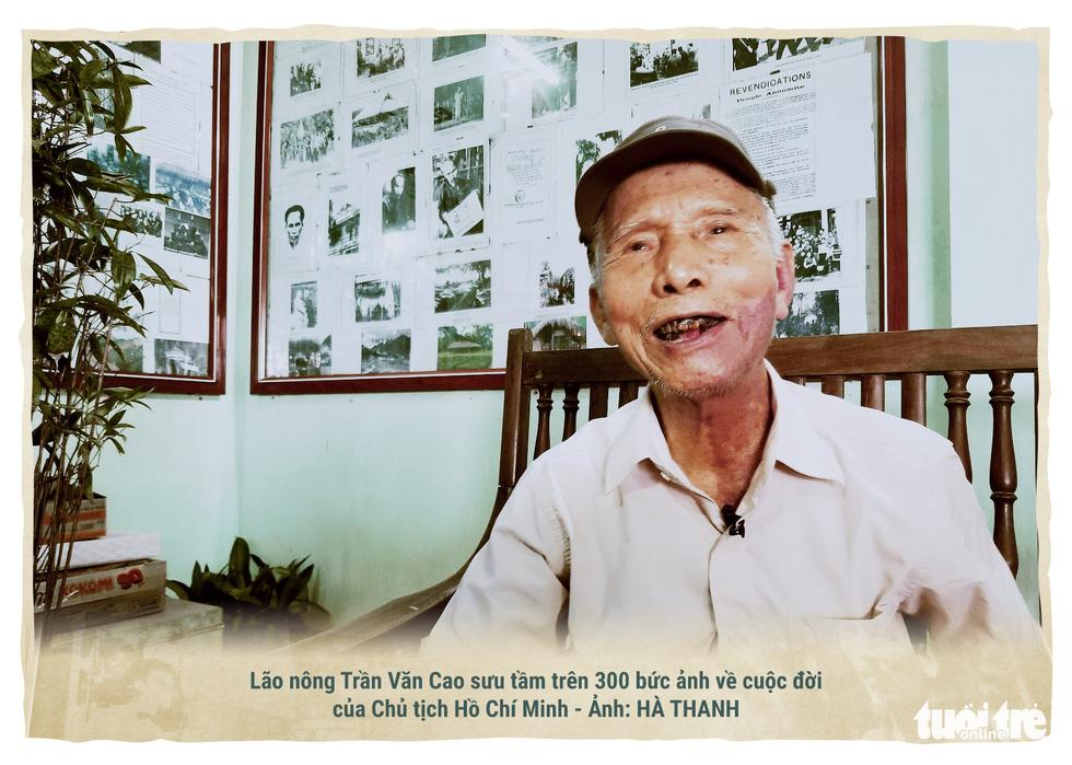 Lão nông kể chuyện về Bác Hồ qua những bức ảnh - Ảnh 1.