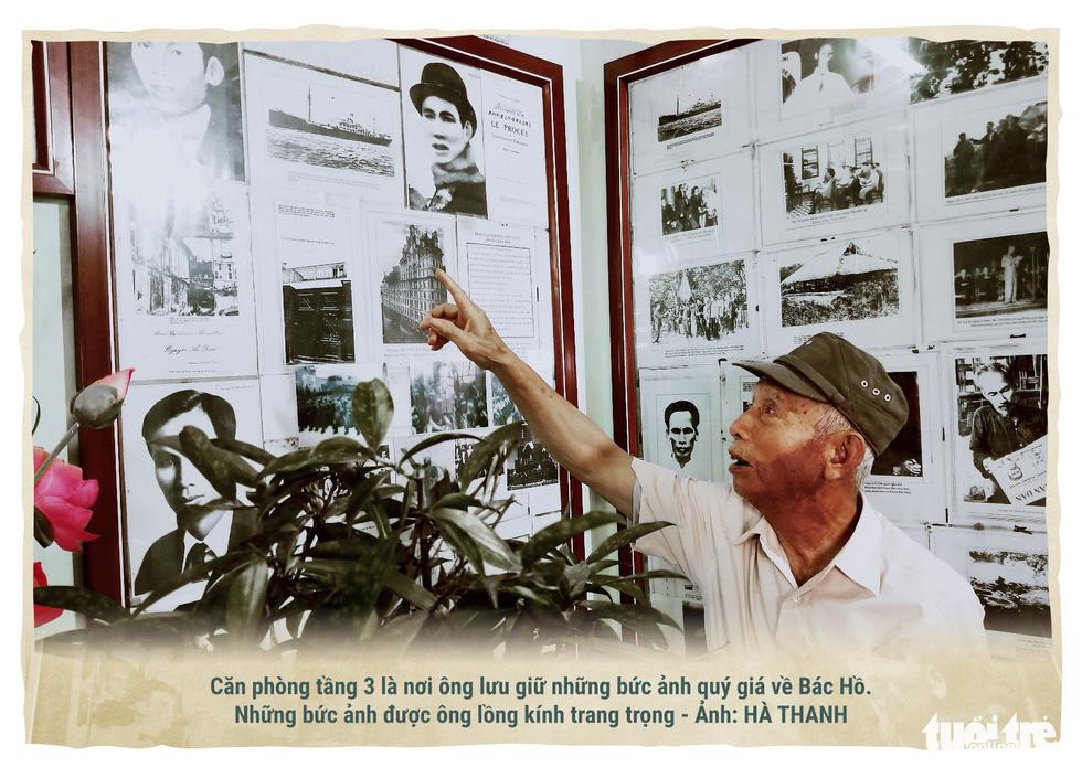 Lão nông kể chuyện về Bác Hồ qua những bức ảnh - Ảnh 2.