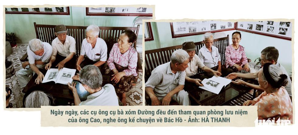 Lão nông kể chuyện về Bác Hồ qua những bức ảnh - Ảnh 3.