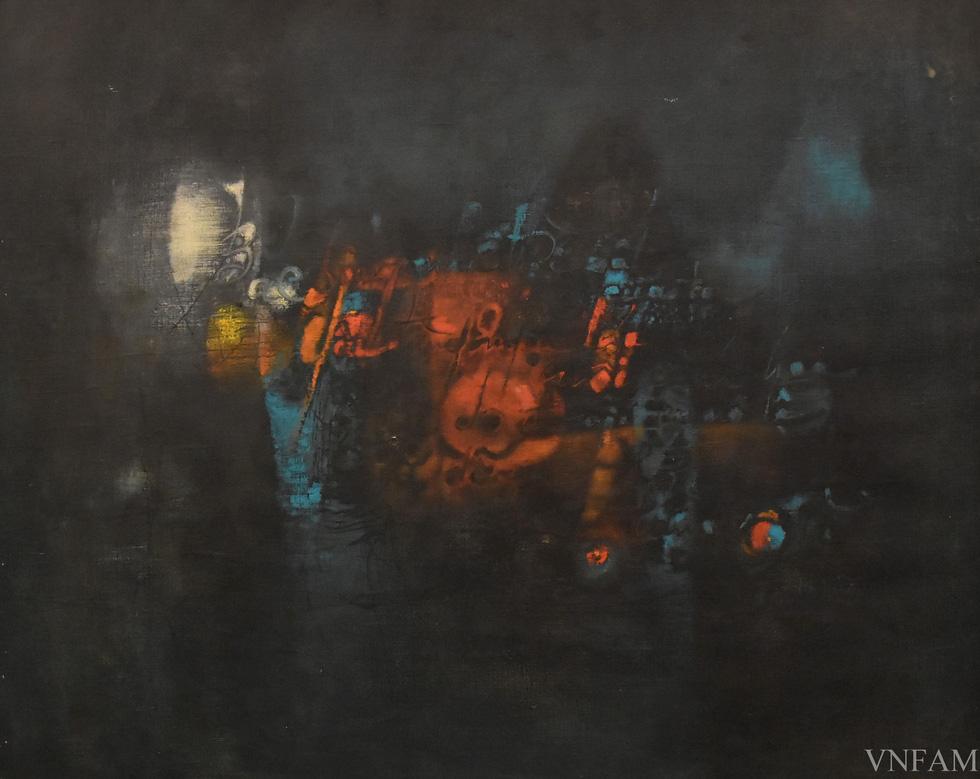 Ngắm tranh Bác Hồ của các danh họa Trần Văn Cẩn, Dương Bích Liên, Lê Bá Đảng - Ảnh 3.