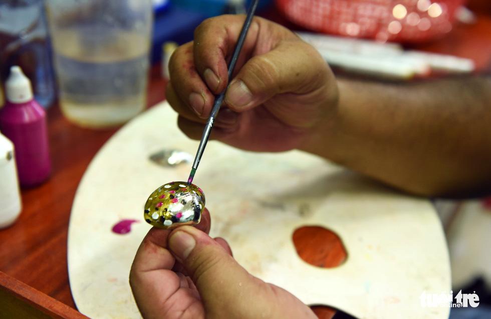 Vỏ sò, vỏ ốc: nguyên liệu tuyệt vời, thanh lịch và rất dễ dàng tìm thấy - Ảnh 5.