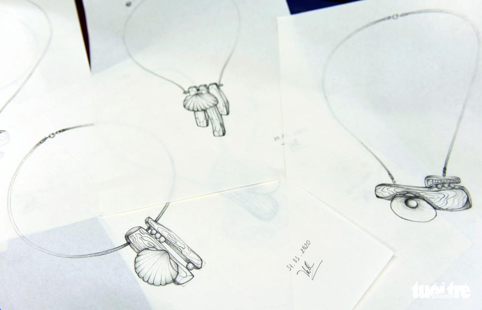 Vỏ sò, vỏ ốc: nguyên liệu tuyệt vời, thanh lịch và rất dễ dàng tìm thấy - Ảnh 7.