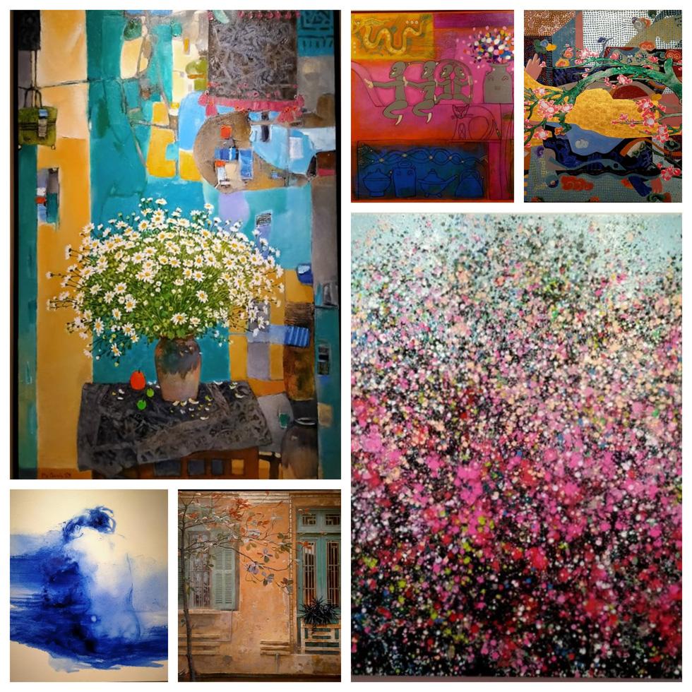 8 họa sĩ mang 'Ngày mới trở lại' rực rỡ sắc màu sau COVID-19 - Ảnh 1.