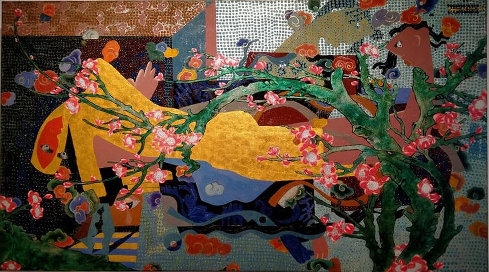8 họa sĩ mang 'Ngày mới trở lại' rực rỡ sắc màu sau COVID-19 - Ảnh 10.