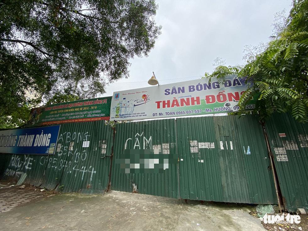 Cận cảnh lô 'đất vàng' 11 năm bỏ hoang ở Hà Nội bị kiến nghị điều tra - Ảnh 7.