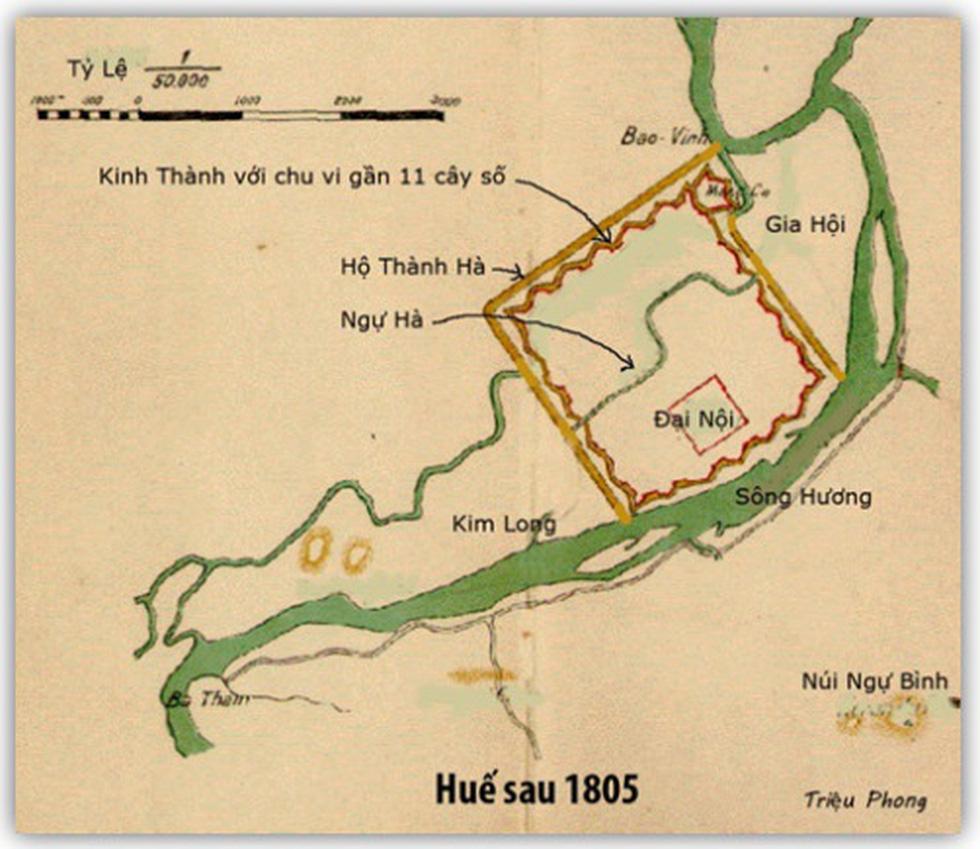 Kinh đô Huế thế kỷ 19 tiêu biểu bậc nhất cho thành thị Việt Nam cuối thời trung đại - Ảnh 3.