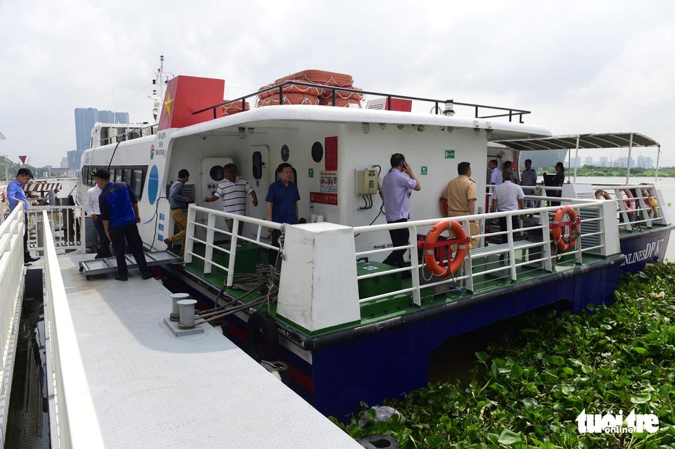 Tháng 7, TP.HCM mở tuyến tàu cao tốc từ bến Bạch Đằng - Bình Dương - Địa đạo Củ Chi - Ảnh 9.