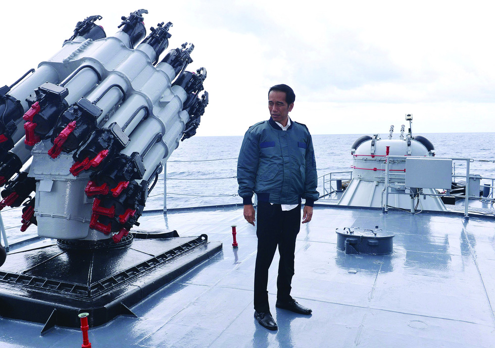 Quả bom ngoại giao của Indonesia về đường lưỡi bò trên Biển Đông - Ảnh 1.
