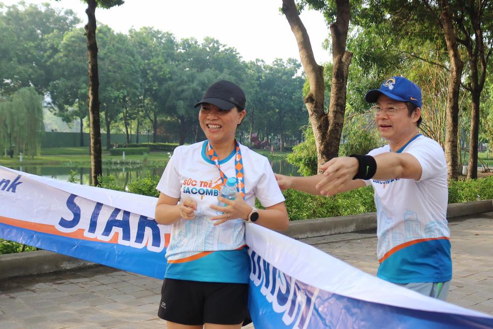 Giải chạy bộ hưởng ứng ngày không tiền mặt 2020: Ngày đầu háo hức - Ảnh 21.
