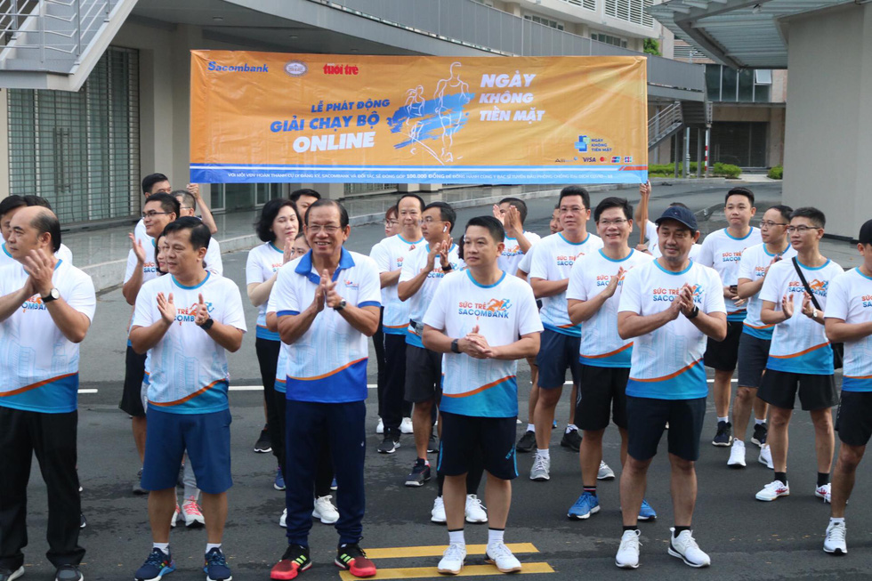 Giải chạy bộ hưởng ứng ngày không tiền mặt 2020: Ngày đầu háo hức - Ảnh 51.