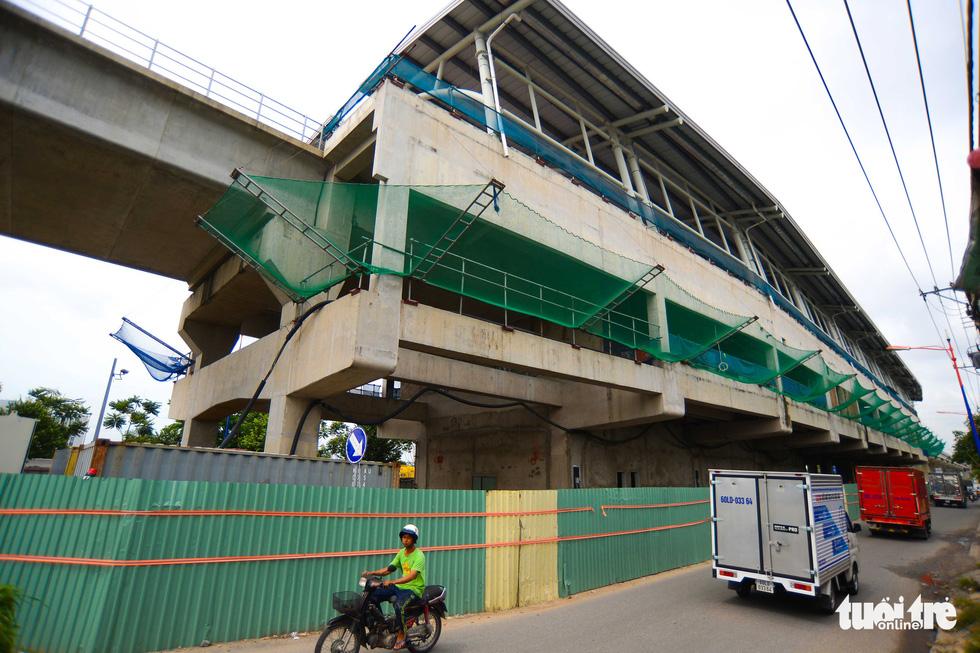 Cận cảnh các nhà ga trên cao tuyến metro Bến Thành - Suối Tiên - Ảnh 7.