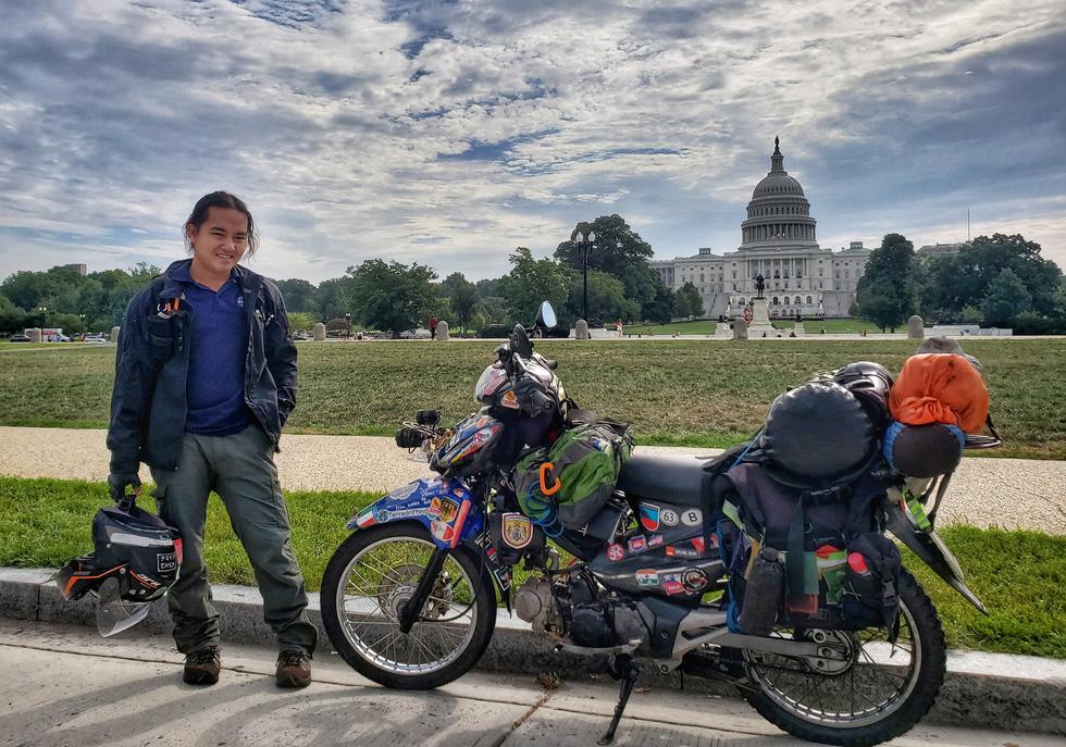 1.111 ngày đi khắp thế giới của Trần Đặng Đăng Khoa: đi 80.000km qua 65 nước - Ảnh 3.